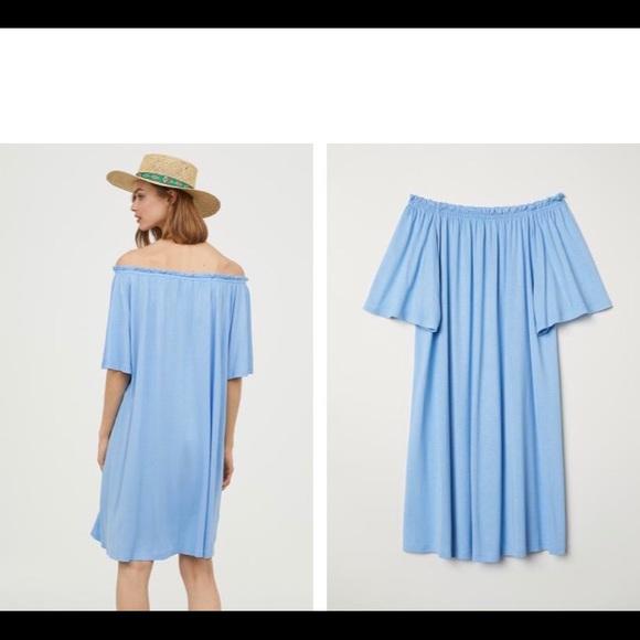 784c1fd8757e H M Dresses   Skirts - Off the shoulder dress